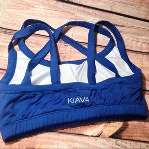 Kiava Blue Workout Athletic Wear - Medium